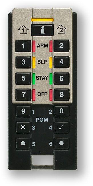 bezdrátová obousměrná klíčenka s klávesnicí - dálkový ovladač pro GSM alarm