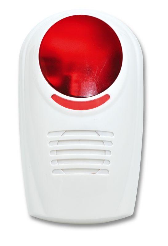 bezdrátová venkovní siréna Ecolite HF-48WS-A pro GSM alarm Ecolite Crown HF-GSM01B a HF-GSM03
