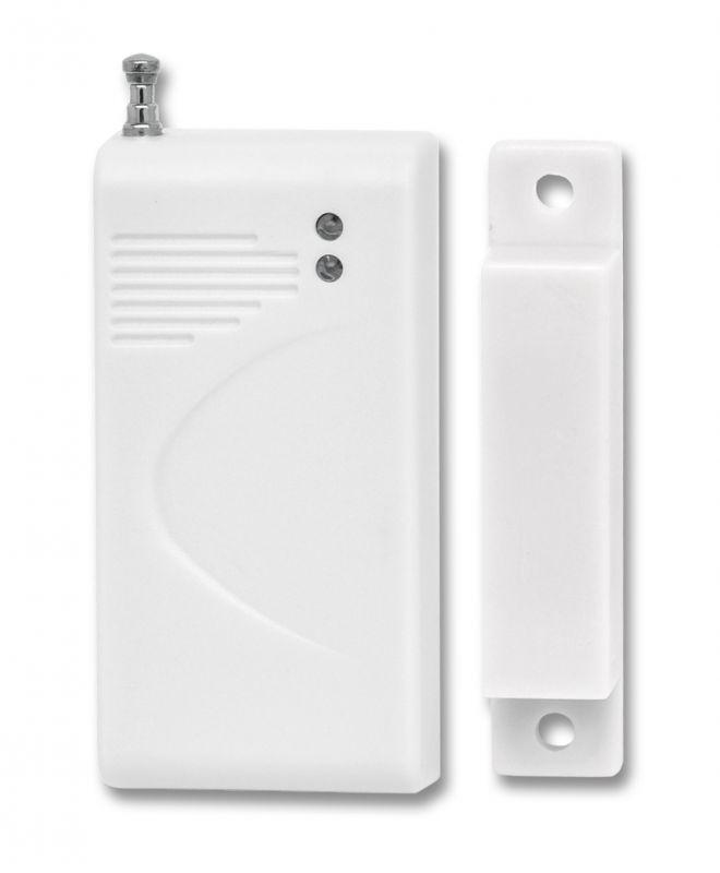 bezdrátový magnetický senzor Ecolite HF-25D (detektor otevření oken a dveří) - dveřní čidlo pro GSM alarm Ecolite Crown HF-GSM01B a HF-GSM03