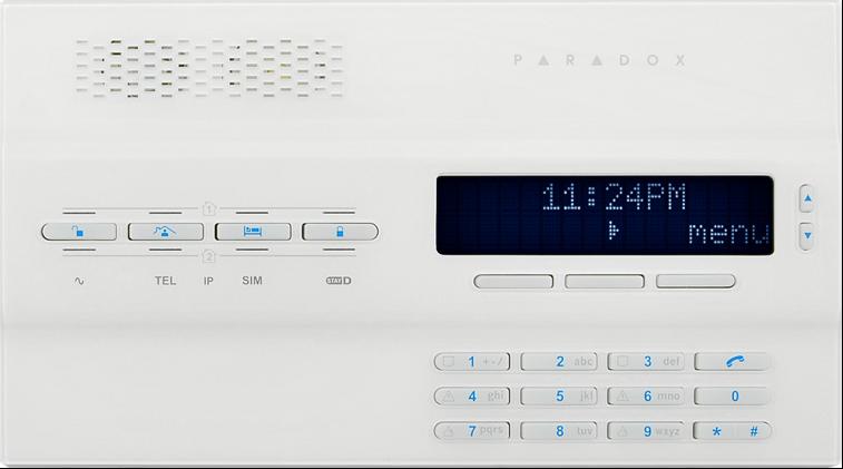 bezdrátový GSM alarm - sestava GSM Magellan MG6250B ZABEZPEČIT BYT