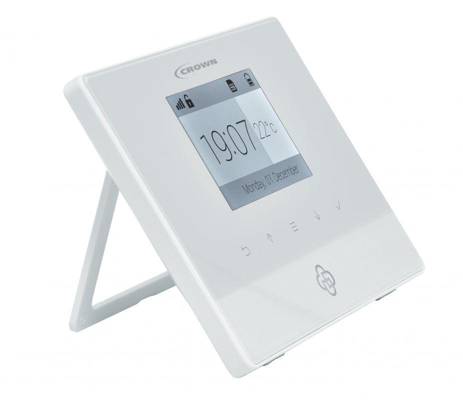 bezdrátový alarm CROWN HF-GSM04 - GSM alarm ovladatelný chytrým telefonem