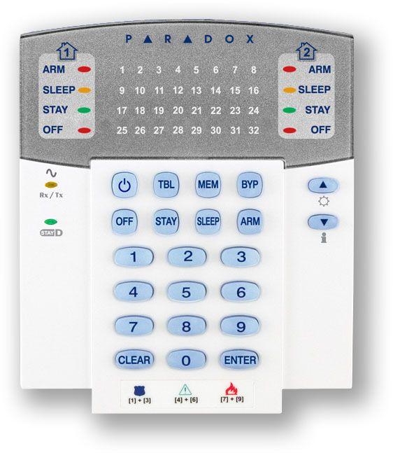 bezdrátová klávesnice bez displeje - pro alarm GSM Magellan