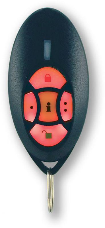 bezdrátová obousměrná klíčenka s přijímačem - dálkový ovladač pro GSM alarm
