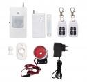 bezdrátový domovní GSM alarm - sestava Ecolite CROWN HF-GSM01B