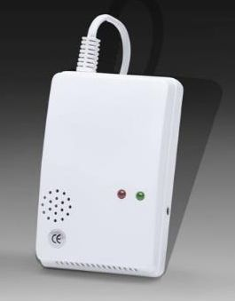 Bezdrátový detektor úniku hořlavých plynů (LPG, CNG, propan-butan atd.) - čidlo pro GSM alarm SX Safír CZ